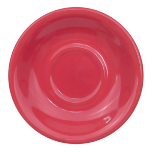 CAC China LV-2-R 6-Inch Las Vegas Rolled Saucer 36 Red of クリアランスsale 期間限定 Stoneware 輸入 Edge Box