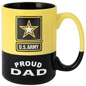 ARMY MUGS U.S. Army Proud Dad 15 oz. Coffee Mug:Glomarket