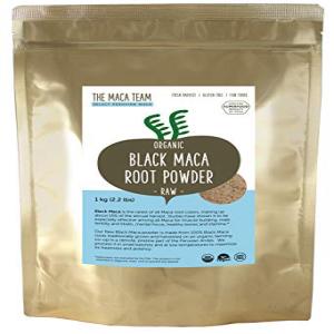 The Maca Team Raw Black Maca Powder, Raw and Ve