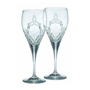 新作販売 Galway Crystal Trinity Knot Pair 25%OFF Goblet