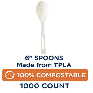 100% Compostable ☆送料無料☆ 当日発送可能 Spoons by Centric World WEB限定 f Made