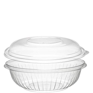 Dart PET24BCD 24 oz Clear with Bowl PET 買収 Lid セール特価 Dome