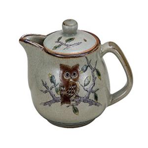 <title>大放出セール Kutani Pottery Owl kyusu tea pot from Japan K5-55</title>