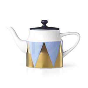 <title>Lenox Azzurro Angles 毎日がバーゲンセール Procelain Teapot Blue</title>