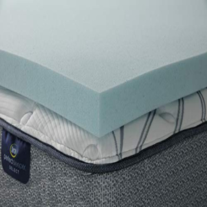 <title>Serta ThermaGel 3-in ◇限定Special Price Memory Foam Mattress Topper Queen</title>