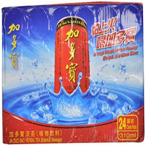 ジアダオブオハーブティー、10.48オンス(24パック) JiaDuoBao Jia Dao Buo Herbal Tea, 10.48 Ounce (Pack of 24)