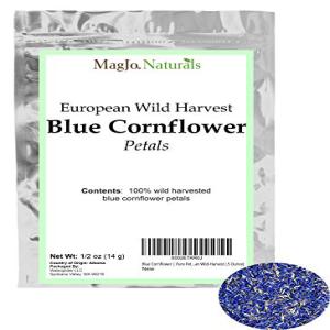 Blue Cornflower Pure Wild-Ha 売り込み European Petals ショッピング