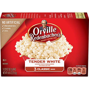 Orville Redenbacher's Tender White 送料無料激安祭 Gourmet Microwave Popcorn Classic Bag 3-Count 受注生産品 Pack 12 of
