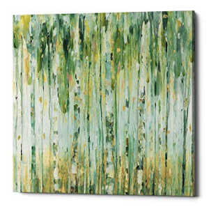 Epic Graffiti The Forest I by Lisa Audit Canvas Wall Art, Green