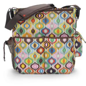 日本未入荷 Skip Hop Jonathan Adler Dash Diaper Bags, Wave Multi (Discontinued by Manufacturer), 2021 14edbc2c