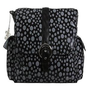 円高還元 Kalencom Buckle Bag, Bubbles Black, スワロフスキー通販 デコダリア 99545400