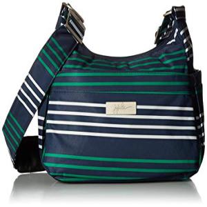 驚きの安さ JuJuBe HoboBe Purse Diaper Bag, Coastal Collection - Providence - Navy/Teal/White Stripes, 信楽焼明山窯 8b2bce46