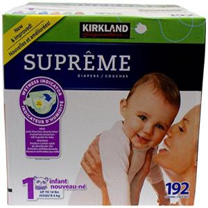 完成品 Kirkland Diapers-Size 1-192 Count, 子供服 KITOHOUSE 409ca241