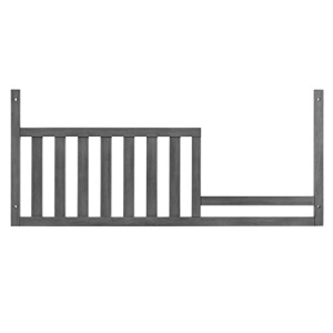 Oxford Baby お買い得品 Holland Toddler Guard Rail Gray Convertible 大人気 Crib 4-in-1 Cloud for