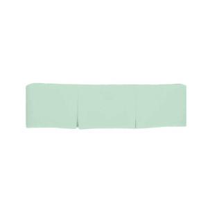 激安先着 bkb Solid Tailored Round Crib Skirt, Mint Green, 安納芋REIMEI dd3ed6e1