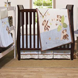 Little Haven Go Bananas 新作からSALEアイテム等お得な商品 満載 Organic Set Crib 4-Piece Bedding モデル着用 注目アイテム