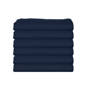 気質アップ bkb Daycare 6 Piece Flat Crib and Toddler Sheets, Navy, ニシタマグン c8f5f429