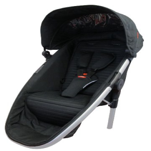 PhilTeds 正規品送料無料 セール Promenade Doubles Kit Second Seat Black