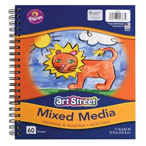 Pacon Art Street Mixed ※ラッピング ※ Media Journal Heavyweight いよいよ人気ブランド 11