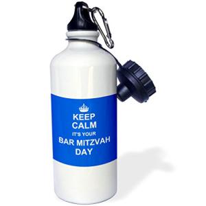 3dRose 卸直営 wb_157641_1 Water Bottle White 安い 激安 プチプラ 高品質 21oz