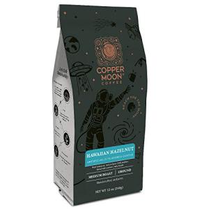 コッパームーングラウンドコーヒーハワイアンヘーゼルナッツ12オンス Copper Moon Ground マーケット 買物 Coffee Hawaiian 12 Ounce Hazelnut