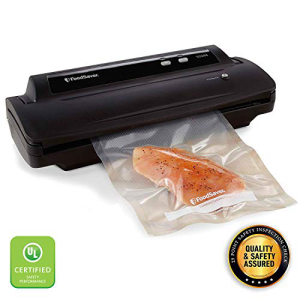 FoodSaver V2244 Vacuum Sealer Machine for Food Preservation with 大規模セール Bags and Rolls Clean Compact Safety Easy UL Starter Kit #1 System ◆セール特価品◆ Black Certified