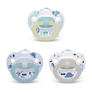 NUK Orthodontic Pacifier Value Pack オンラインショップ 0-6 オンラインショップ Boy 3-Pack Months