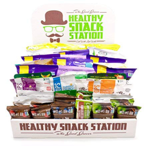 All Natural Healthy Snack Station 50 Count by The ギフ_包装 Good Grocer Pack Office Snacks School Lunches 年中無休 Includes Variety Box Display -