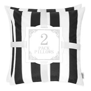 <title>Homy Cozy 7H5241-20-Olivia Accent 人気上昇中 Pillow 2 Pack Black</title>