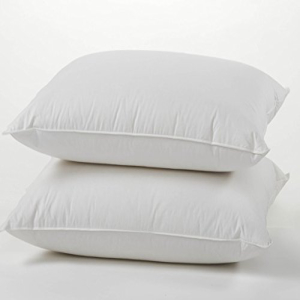 OUTLET 高品質 SALE East Coast Bedding Goose Feather and Down Set 2 Pillows of Queen Bed