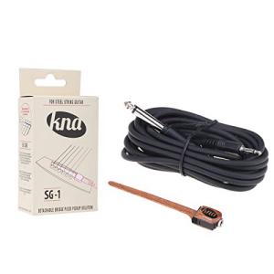 最愛 KNA SG-1 Portable Portable Piezo for Pickup for Acoustic Steel String Acoustic Guitar, キタグンマグン:644ba269 --- cleventis.eu