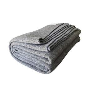 2020人気の Woolly Mammoth Woolen Company Explorer Collection Wool Blanket (Tan), ★日本の職人技★ 225f3dd1