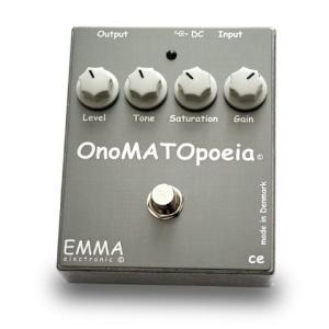 【希望者のみラッピング無料】 EMMA Electronic OM-1 OnoMATOpoeia Guitar Distortion Effect Pedal, KAMIEN a1759efc