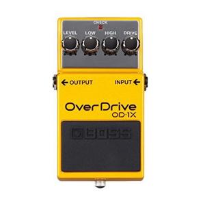 【初売り】 BOSS 4 String Special Edition Overdrive Guitar Pedal (OD-1X), ホギ 2b886f3a