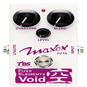 Maxon Compact Series ブランド激安セール会場 値引き FV10 Fuzz Elements Guitar Pedal Distortion Effects Void