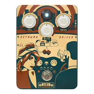 優れた品質 Orange Amps Orange Getaway Driver &39;70s Amp-In-A-Box Overdrive Guitar Effects Pedal, カモムラ a793ee0c