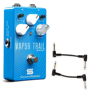 本物保証!  Seymour Duncan 11900-002 Vapor Trail Analog Delay Pedal with 2 Patch Cables, トウーレイトスポーツオンライン 31034820