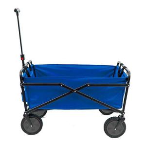 有名なブランド SEINA Manual 150 Pound Capacity Heavy Duty Folding Outdoor Utility Cart, Blue, ホンドシ 175bb0f1