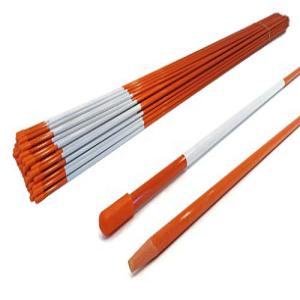 着後レビューで 送料無料 The ROP Shop Pack of 50 Driveway Markers Snow Poles inch Stakes inches 48 5 16 付与 Rods