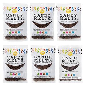 ウィルトン12オンス ダークココアキャンディーメルトキャンディー 6カウント Wilton 12 oz. Melts Candy Dark 年中無休 6-Count Cocoa 商品追加値下げ在庫復活