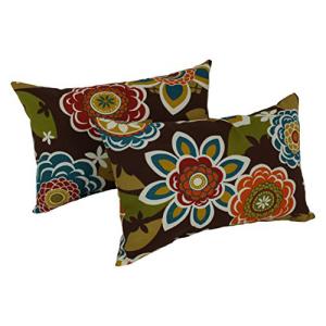 Blazing Needles Rectangular Throw Pillows Set 激安特価品 of Alenia 流行のアイテム 12