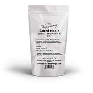 Chef's Fun Foods Gourmet Fries Seasoning Bag ◆セール特価品◆ Salted 高い素材 Maple 2 lbs.