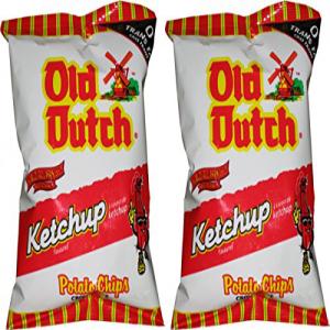オールドダッチポテトチップス、ケチャップ、40グラム/1.4オンス-40パック Old Dutch Foods Old Dutch Potato Chips, Ketchup, 40 Grams/1.4 Ounces - 40 Pack