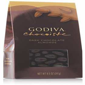 Godiva Chocolatier Dark Chocolate Covered Almonds 新作入荷!! Great for 8.5 Nuts Treats 大決算セール Holiday ounce bag Gifting