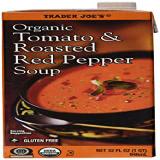 トレーダージョーズオーガニックトマト 専門店 ローストレッドペッパースープ-3パック Trader Joe's Organic Tomato Roasted Red 3 - Soup Pack Pepper 2020春夏新作