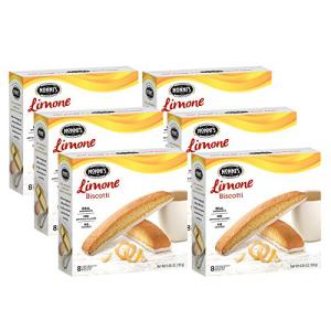 Nonni's 有名な Biscotti Limone 6ボックス 48ビスコッティ合計 6 Boxes Total 超安い 48