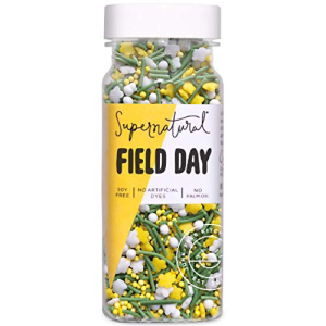 Field Day Flower Sprinkles by Supernatural Natural Confetti for Healthy Artificial oz 驚きの値段 Soy Vegan Baking No バースデー 記念日 ギフト 贈物 お勧め 通販 3 Free Gluten-Free Dyes