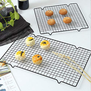 Qianyi 2 Pack ディスカウント Steel Wire Baking Oven Roasting Cooking Cooling x Rack 安い 激安 プチプラ 高品質 Grilling 10