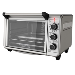 ブラック+デッカーTO3210SSD6スライス対流カウンタートップトースターオーブン、シルバー Black+Decker TO3210SSD 6-Slice Convection Countertop Toaster Oven, Silver