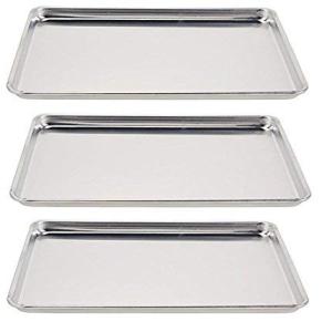 Vollrath 5303 セール特価 Wear-Ever Half-Size Sheet Pans Set Aluminum 18-Inch of x 3 売り込み 13-Inch